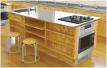 教育施設製品家庭科用調理台・理科室用実験台